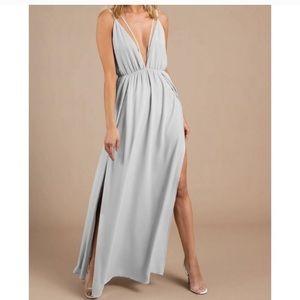 Tobi tulip slit dress